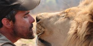 "Meet Kevin ""The Lion Whisperer"""