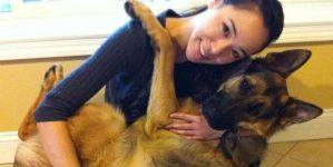 Dunder The German Shepherd Cries Like A Little Baby