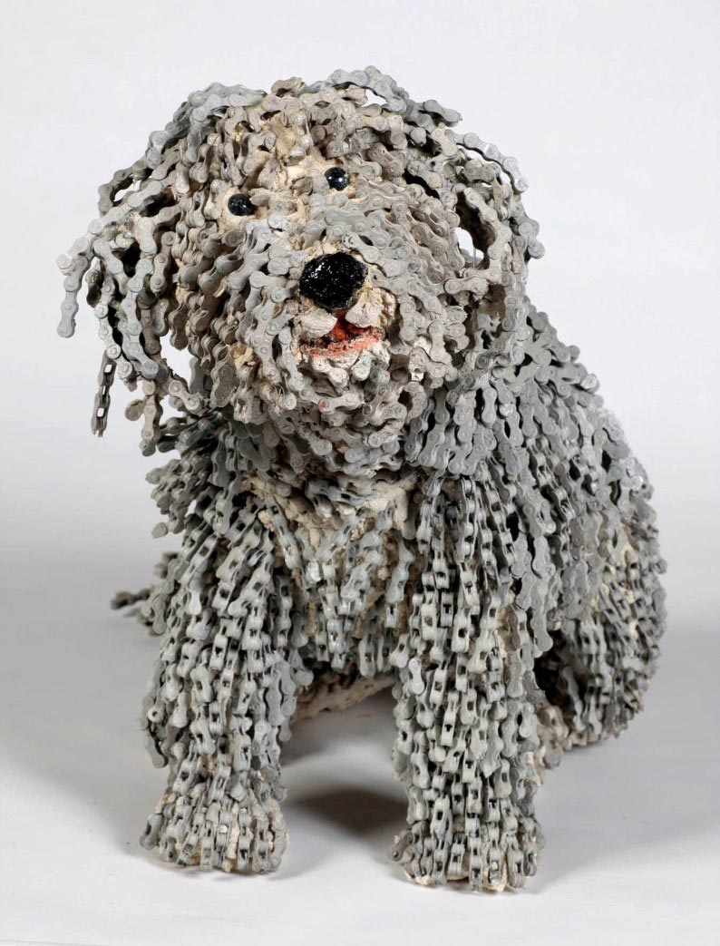 dog made of chain9
