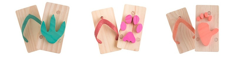 Kiko Ashiato Animal Print Beach Sandals