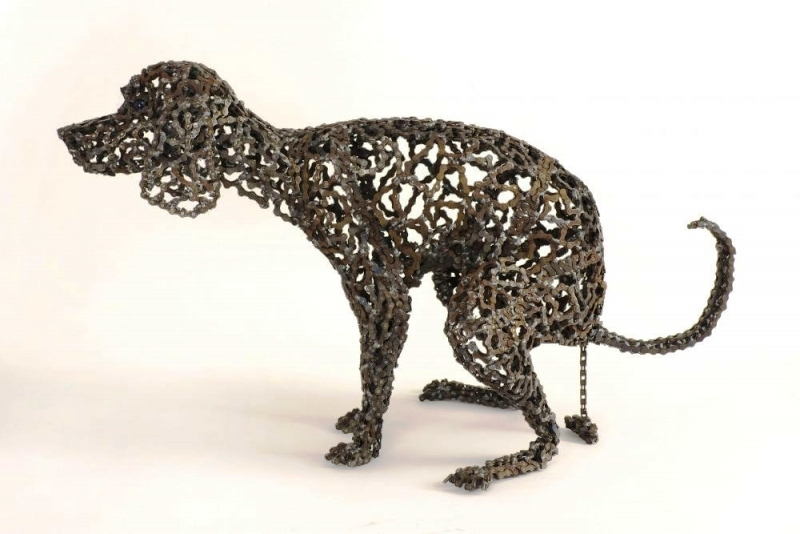 dog made of chain4