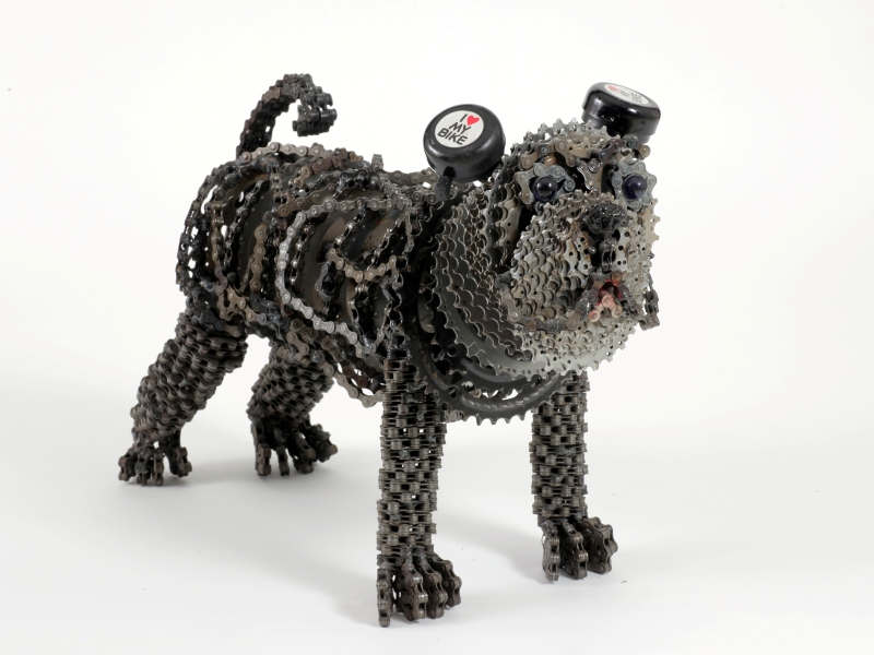 dog made of chain6