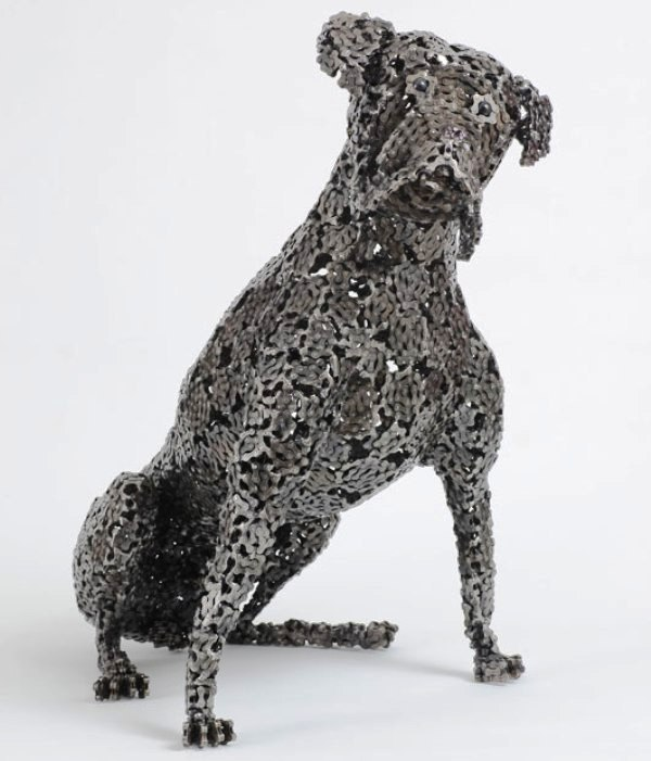dog made of chain7