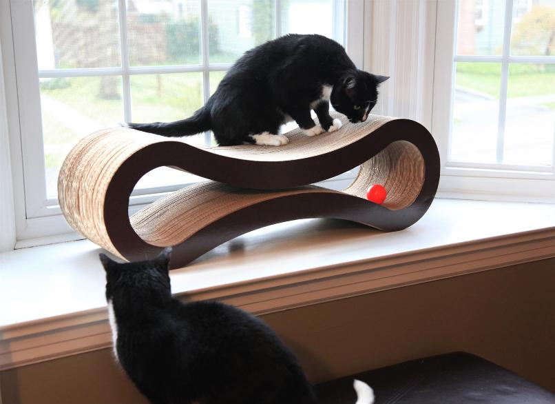 cat scratcher lounge. Pet Fusion Cat Scratcher Lounge N