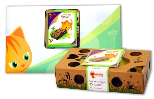 Cat Amazing - Best Cat Toy Ever! Interactive Puzzle Box Game for Cats