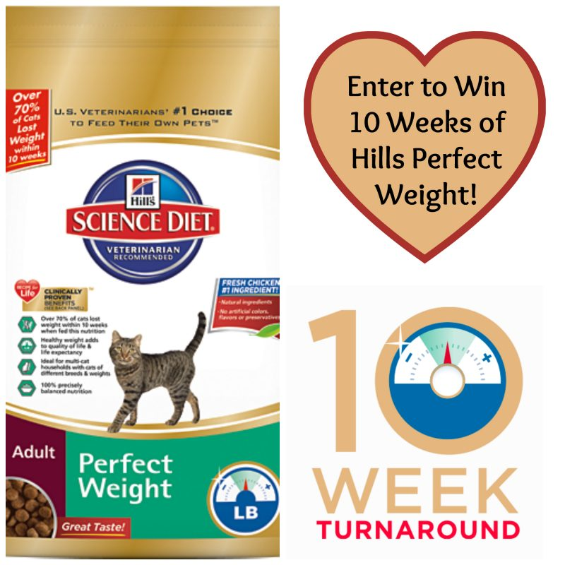 Hills Perfect Weight Sweepstakes