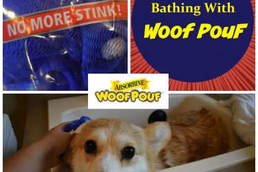 Super Easy Dog Bathing With #WoofPouf