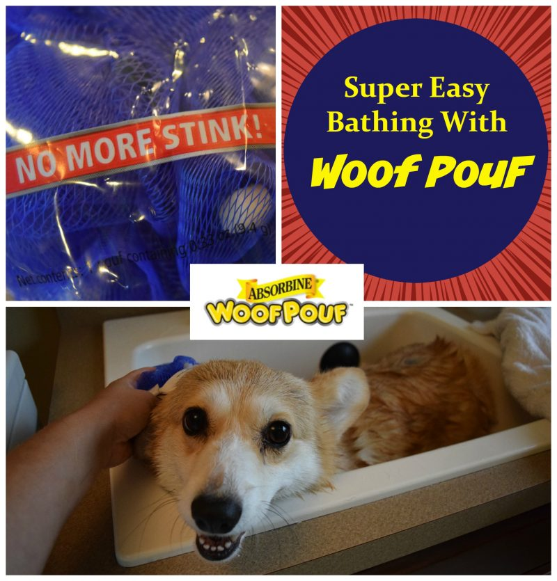 Woof Pouf easy bathing