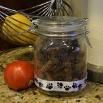 DIY Dog Treat Jar and #NaturalBalance Dog Treats