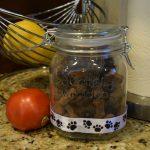 DIY Dog Treat Jar and #NaturalBalance Dog Treats