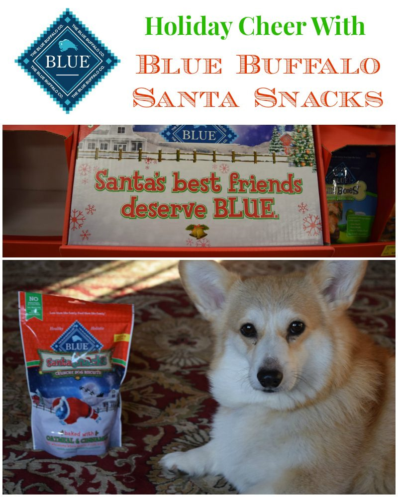 blue buffalo santa snacks holiday