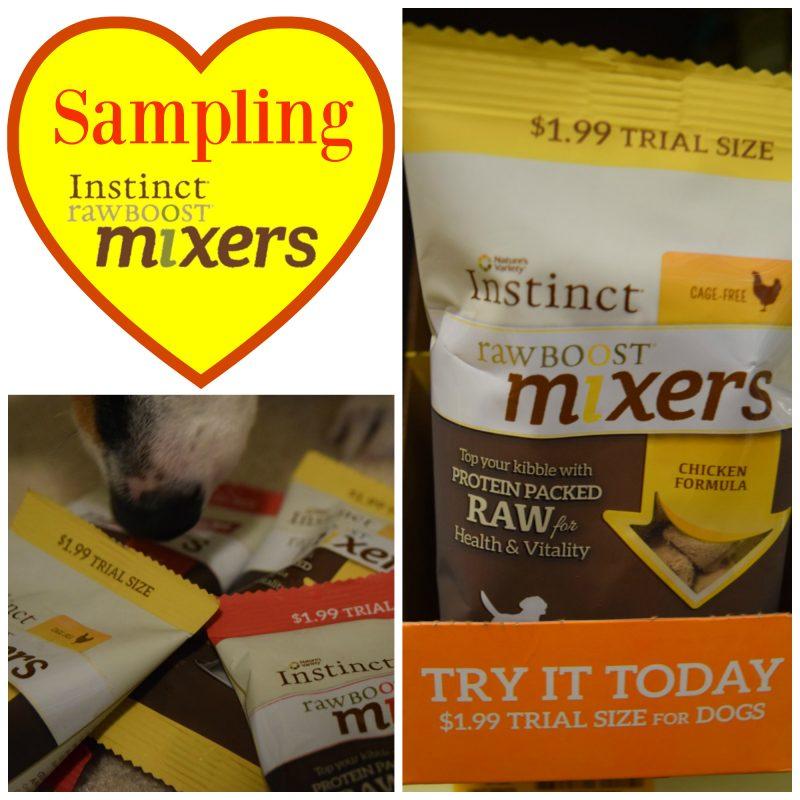 sampling instinct raw boost mixers