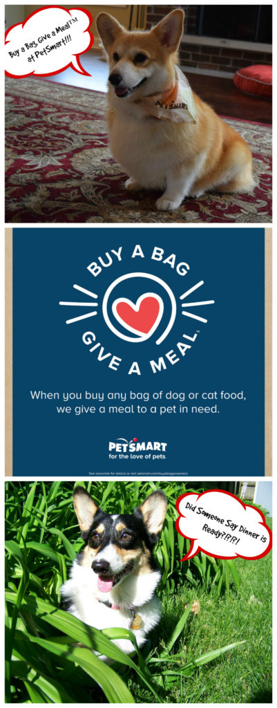 Buy a bag, give a meal with petsmart