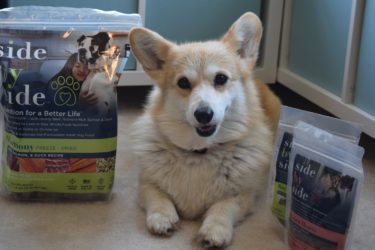 Clean Eating For Dogs, Eve's Side by Side Nutrition Boost